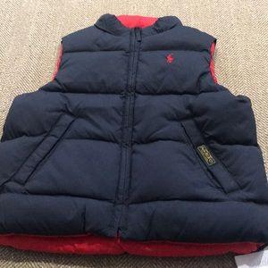 KIDS Ralph Lauren Reversible Puffer Vest
